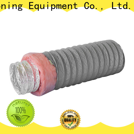 100mm insulated rigid ductwork flexible manufacturer for fresh air system ventilation