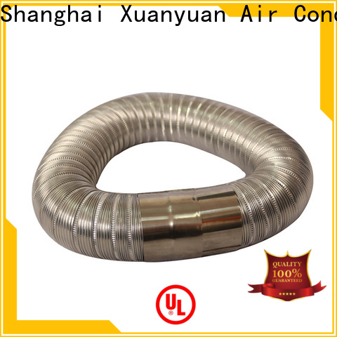 stainless steel 150mm semi rigid aluminium ducting stainless on sale for range hood ventilation