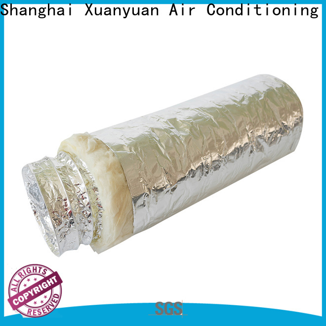 customized length duct insulation ducting manufacturer for bath heater ventilation