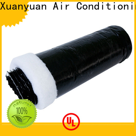 Xuanyuan polyester insulated rigid ductwork directly sale for bath heater ventilation