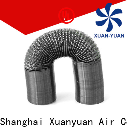 fabric flexible air duct pvc from China for bath heater ventilation