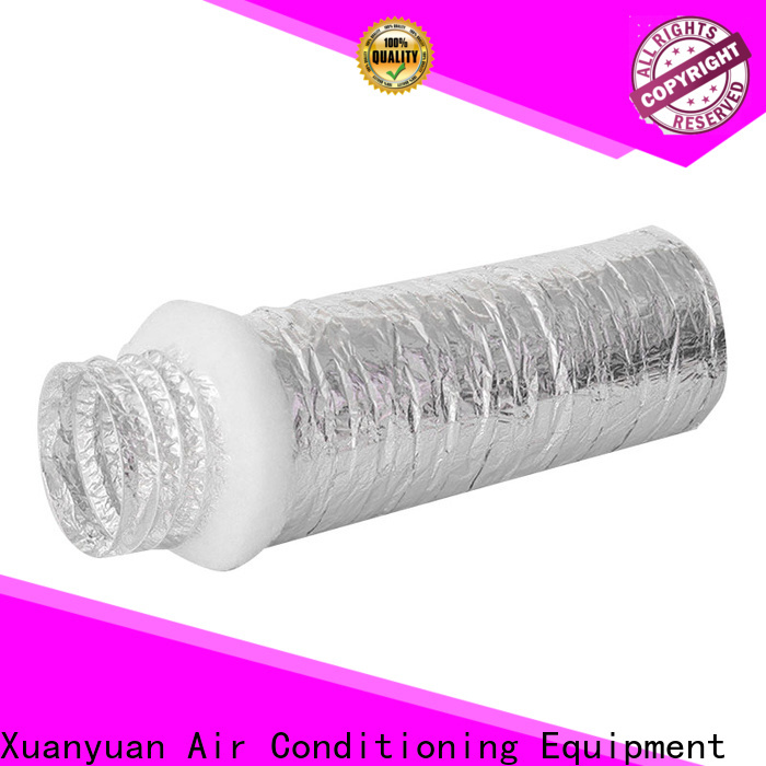 fiberglass ductwork insulation size manufacturer for fresh air system ventilation
