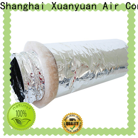 Xuanyuan polyester air duct insulation directly sale for general purpose exhaust