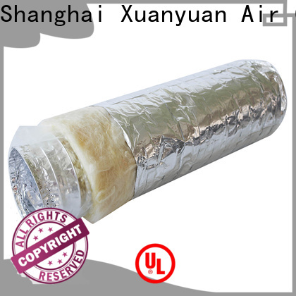 Xuanyuan length acoustic flexible duct design for range hood ventilation