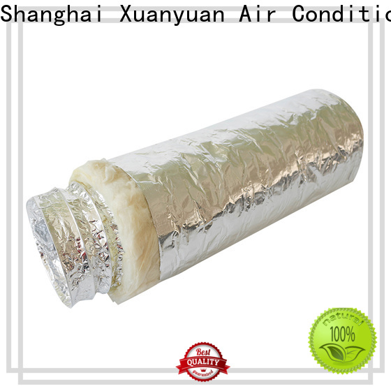 Xuanyuan 12-inch 3 inch insulated flexible duct series for ventilator