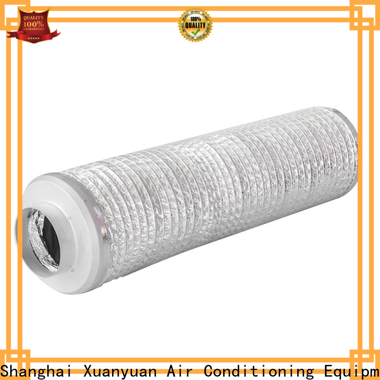 Xuanyuan lagging acoustic flexible duct with good price for ventilator