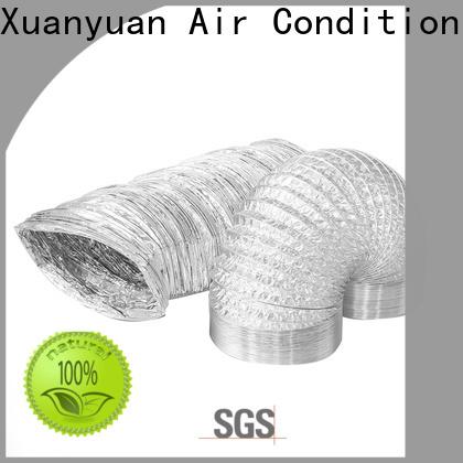 colorful flexible foil duct aluminum manufacturer for range hood ventilation
