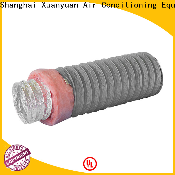 Xuanyuan ducting 3 inch insulated flexible duct customized for general purpose exhaust