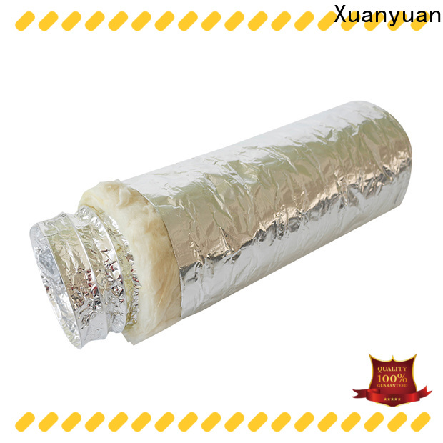 Xuanyuan covering flex duct with insulation manufacturers for fresh air system ventilation
