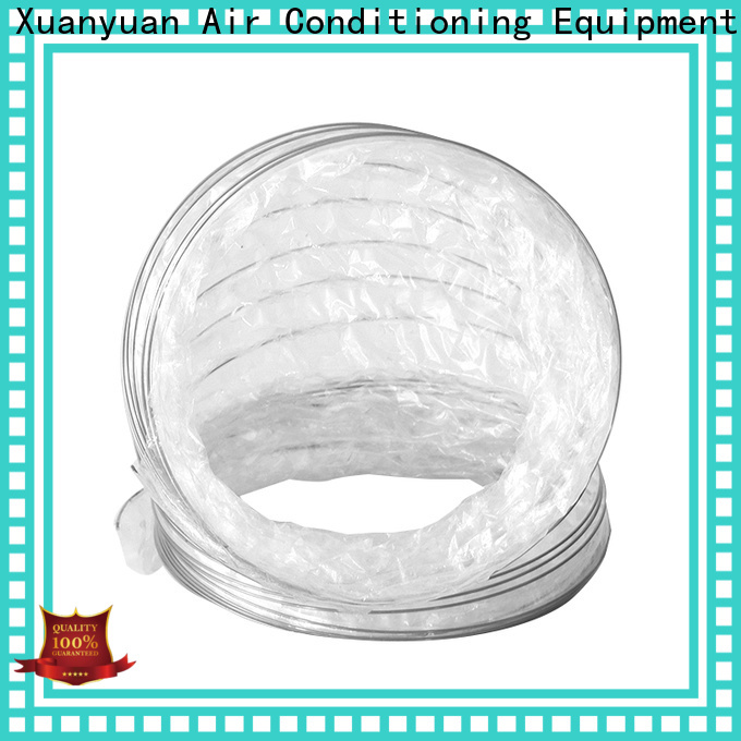Xuanyuan 6 inch insulated flexible duct r8 manufacturers for ventilator