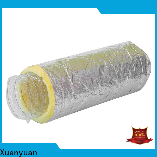 Xuanyuan New 5 inch insulated flex duct bulk buy for bath heater ventilation