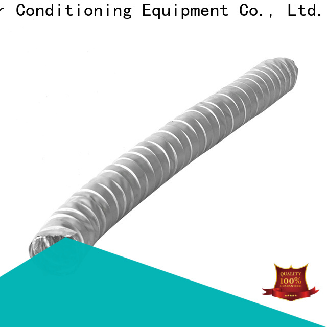 Custom flexible duct sizes company for ventilator