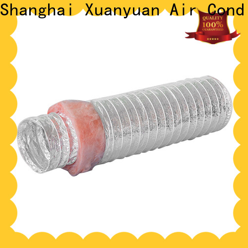 Xuanyuan 12 inch flexible ductwork company for general purpose exhaust